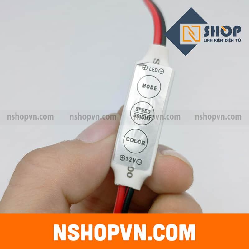 Mạch điều khiển led đơn sắc 12~24VDC