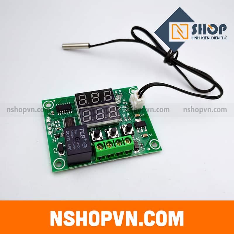 Mạch điều khiển nhiệt độ đóng ngắt Relay XH-W1219