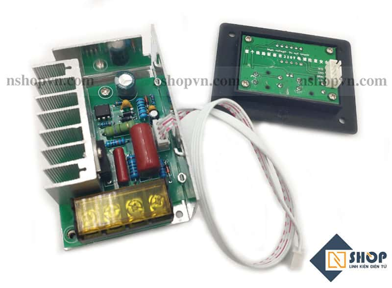 Dimmer AC 4000W có hiển thị