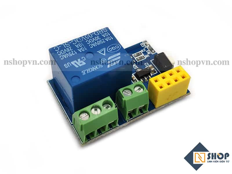 ESP8266 ESP-01S Relay Module ( Chưa bao gồm ESP8266 )