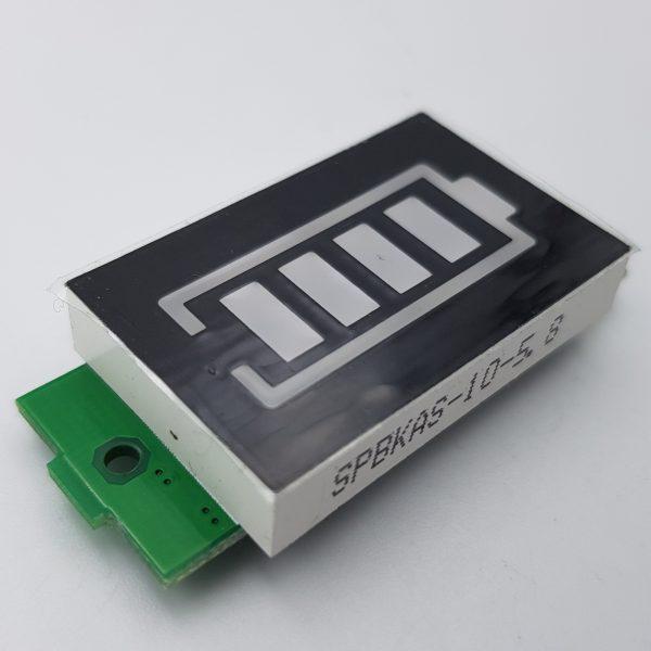 Mạch hiển thị mức năng lượng pin 1S 4.2V