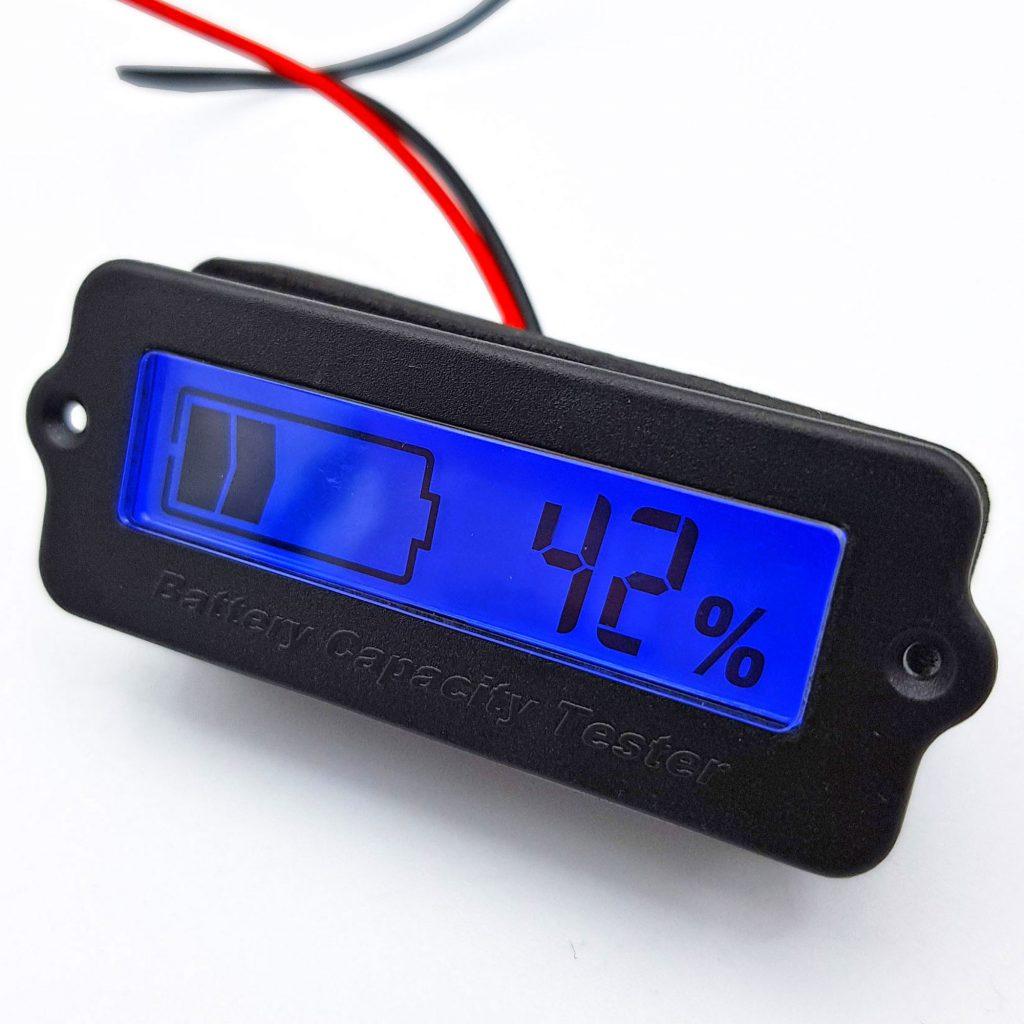 Mạch hiển thị mức năng lượng pin đa năng màu xanh dương