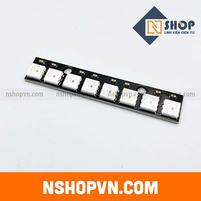 Mạch Hiển Thị NeoPixel 8 RGB LED WS2812 thanh thẳng