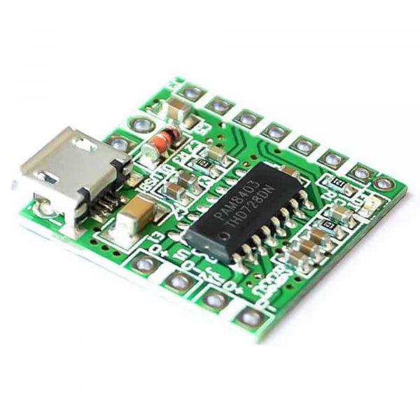 Mạch khuếch đại âm thanh PAM8403 có kết nối bluetooth WIN-668