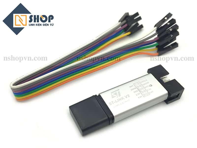 Mạch Nạp STM8 STM32 ST-Link V2