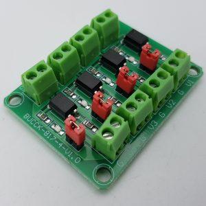 Mạch Opto Cách Ly 4 Kênh PC817