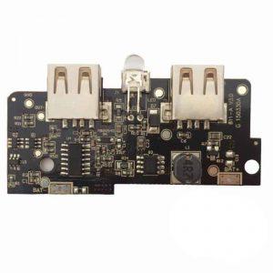 Mạch sạc dự phòng 5vdc 2 cổng USB có tích hợp LCD