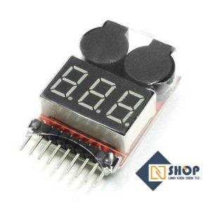 Mạch test pin, kiểm tra, đo pin LiPo