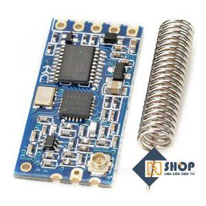 Mạch Thu Phát RF UART SI4463 433Mhz HC-12 Khoảng Cách 1Km
