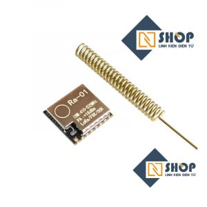 Mạch Thu Phát RF Lora SX1278 433Mhz Ra-01