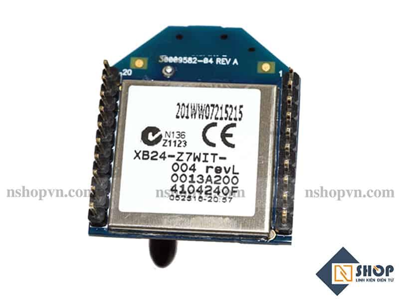 Mạch Thu Phát RF 2.4Ghz Xbee S2C 6.3mW 1200m