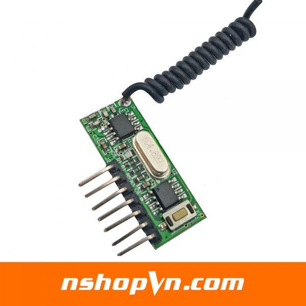 Mạch thu sóng RF 315Mhz học lệnh