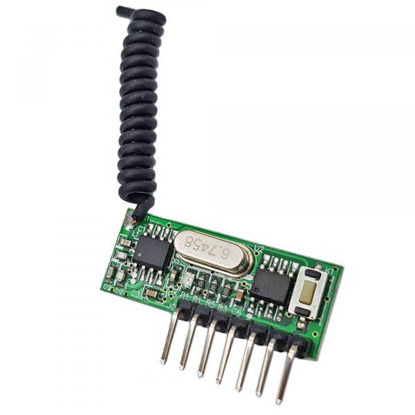 Mạch thu sóng RF 433Mhz học lệnh