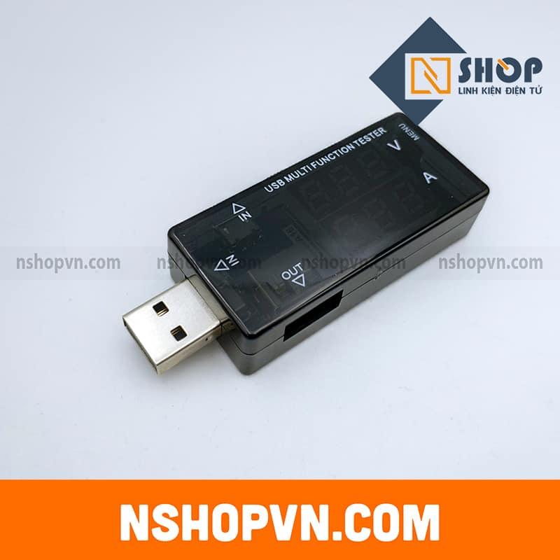 Mạch USB tester V1 (2 dòng màu đỏ)