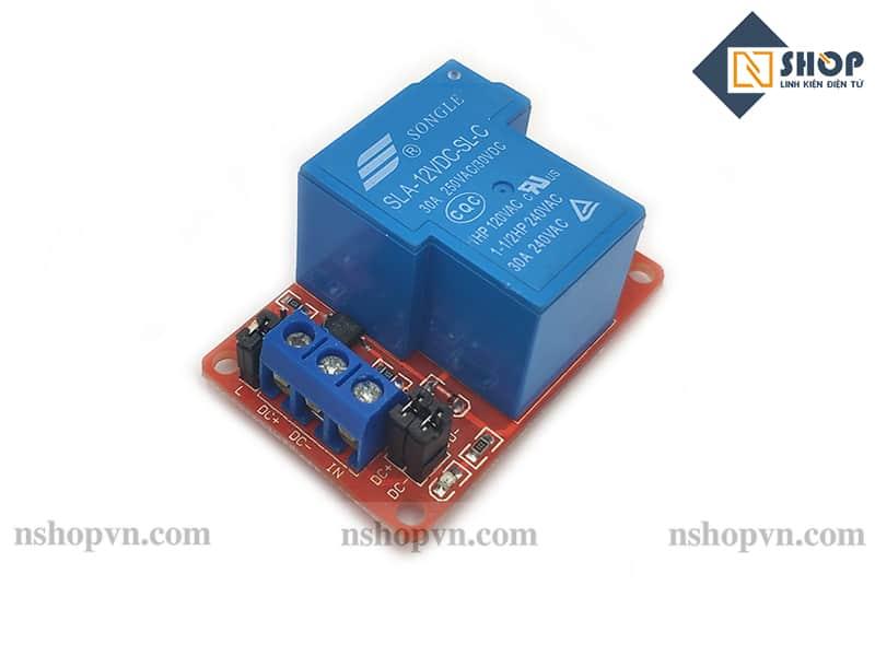 Module 1 Relay Với Opto Cách Ly Kích H/L 12V 30A