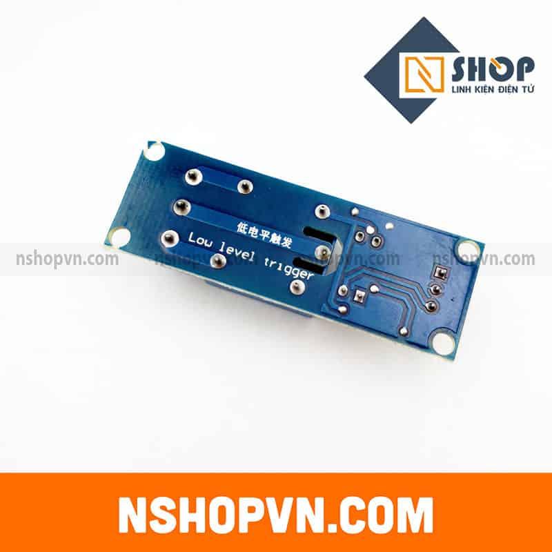Module 1 Relay Với Opto Cách Ly Kích Mức Thấp (5VDC)