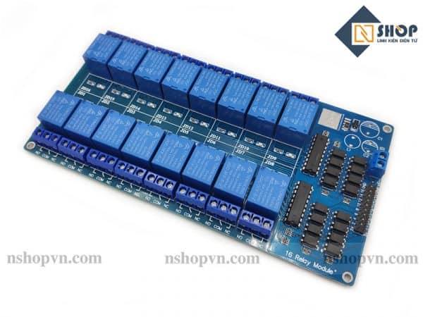 Module 16 Relay Với Opto Cách Ly (5VDC)