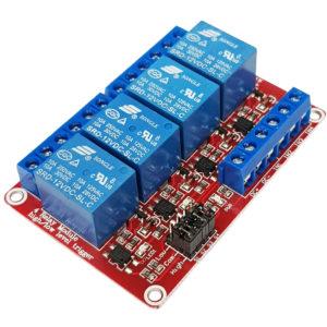 Module 4 Relay Kích H/L 12VDC
