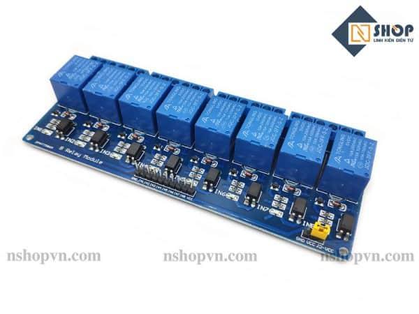 Module 8 Relay Với Opto Cách Ly 5VDC