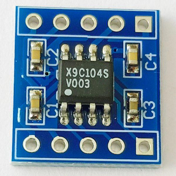 Module Biến Trở Số X9C104