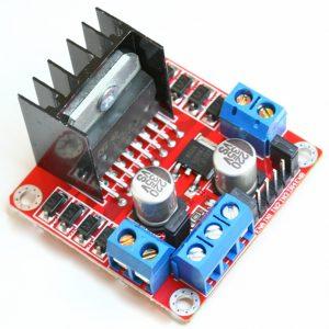 Dùng Module điều khiển động cơ L298N – cầu H để điều khiển động cơ DC