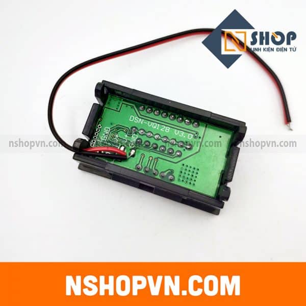 Module hiển thị điện áp mức dung lượng Pin Acquy 24V