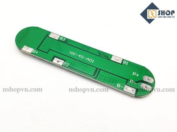 Mạch sạc xả bảo vệ pin lithium 14.8~16.8V 4 cell (4s) 6A
