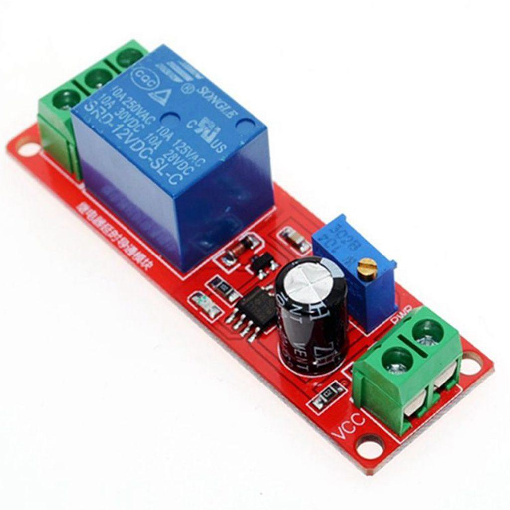 Module relay tạo trễ đóng ngắt thiết bị loại đóng trễ
