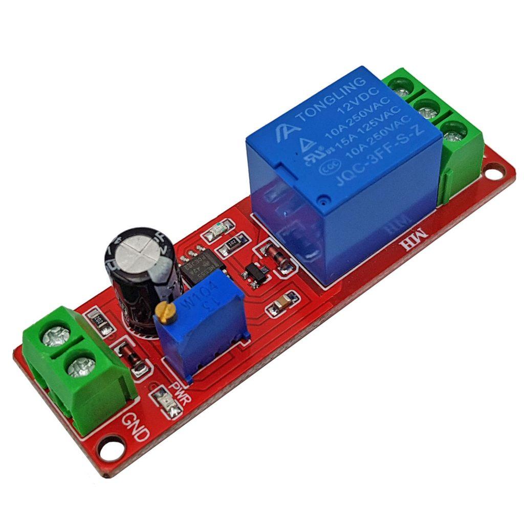 Module relay tạo trễ đóng ngắt thiết bị loại mở trể