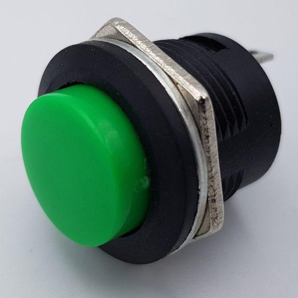 Nút nhấn nhả R13-507 16mm (xanh)