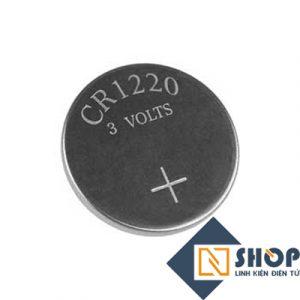 Pin cúc áo CR1220 3Volt
