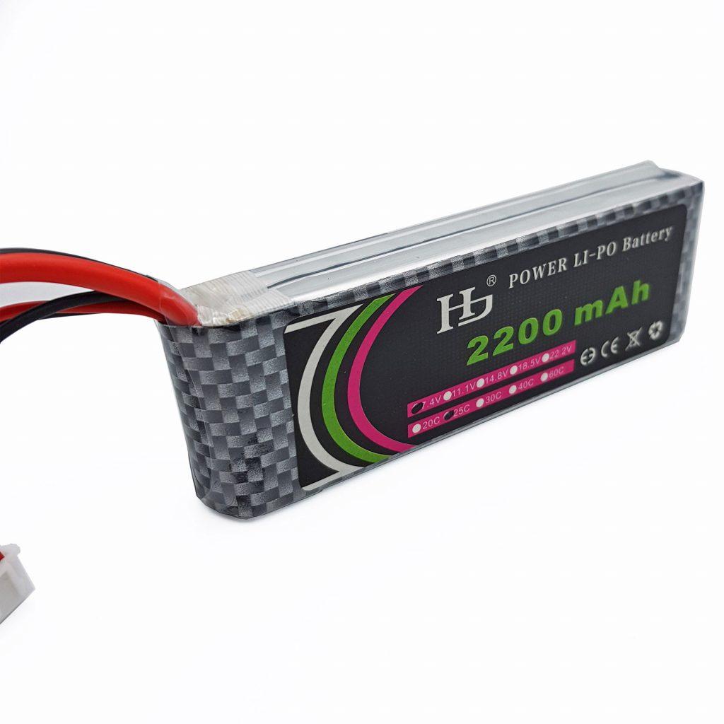 Pin Lion Lipo 2S 7.4V 2200mAh 25C