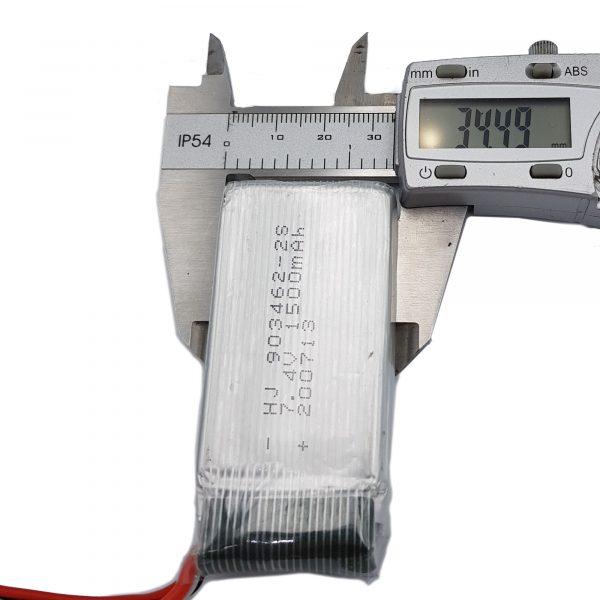 Pin lipo 7.4V 1500mAh