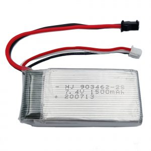 Pin lip 7.4V 1500mAh