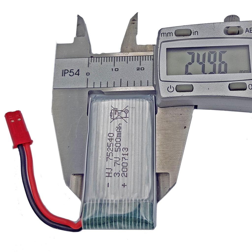 Pin lipo 3.7V 500mAh