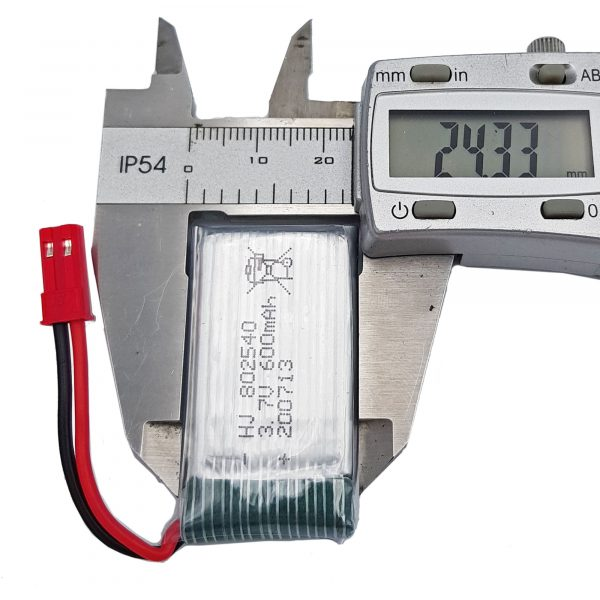 Pin lipo 3.7V 600mAh
