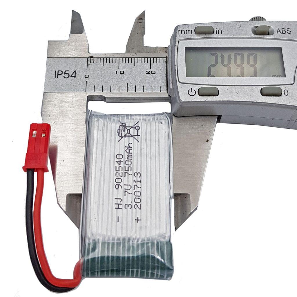 Pin lipo 3.7V 750mAh