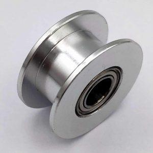 Puly căng đai GT2 trơn trục 5mm đk trong 11.97 (tương ứng 20 răng)
