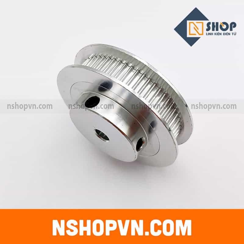 Puly GT2 60 răng trục 5mm