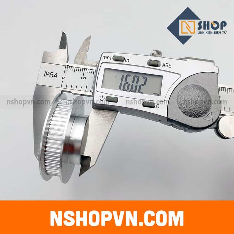 Puly GT2 60 răng trục 8mm