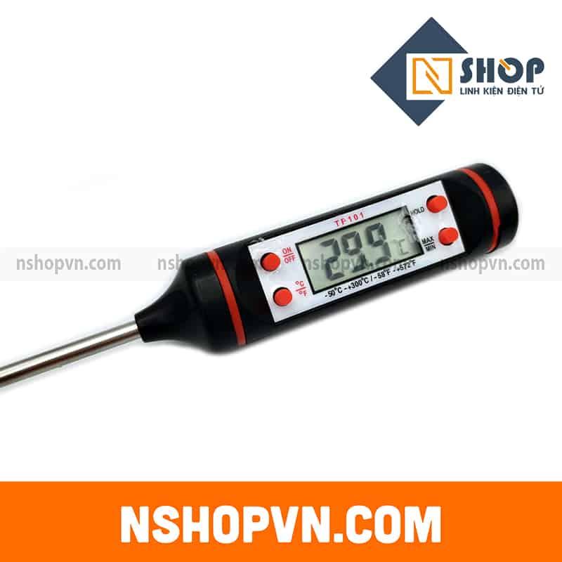 Que đo nhiệt độ TP101