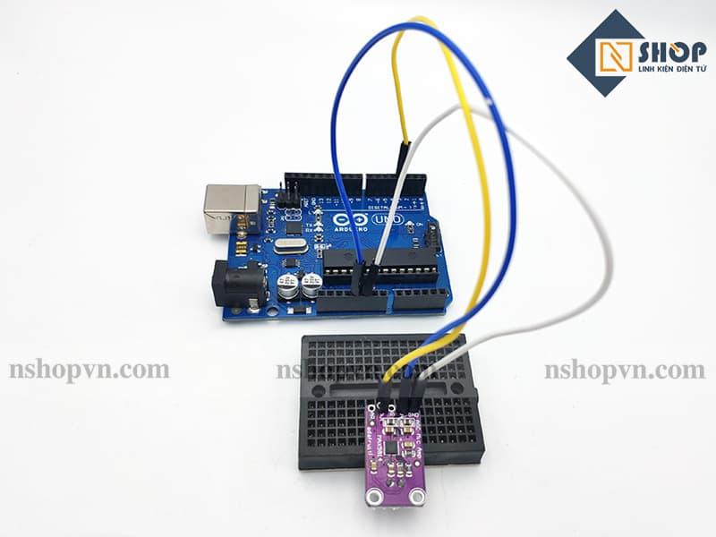 Sơ đồ kết nối của Cảm Biến Âm Thanh MAX9814 Tích Hợp AGC