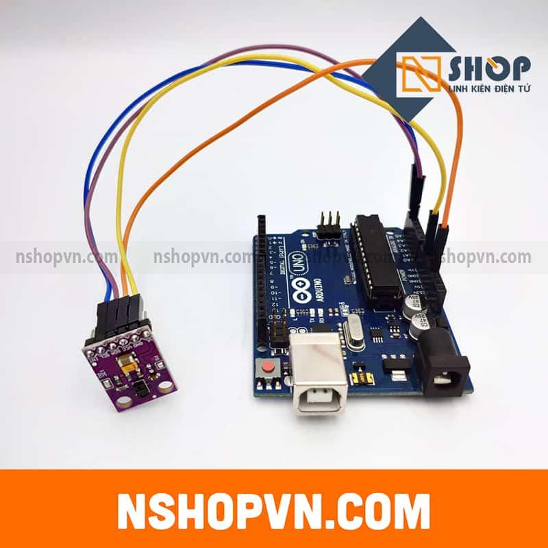 Sơ đồ kết nối của Cảm Biến Hướng Chuyển Động Hồng Ngoại RGB Gesture APDS-9960