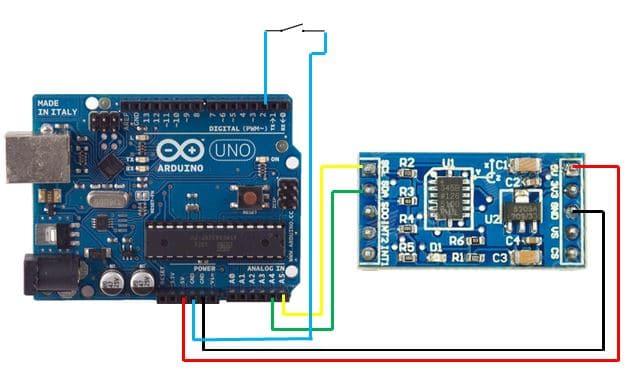 Module Cảm Biến Gia Tốc ADXL345