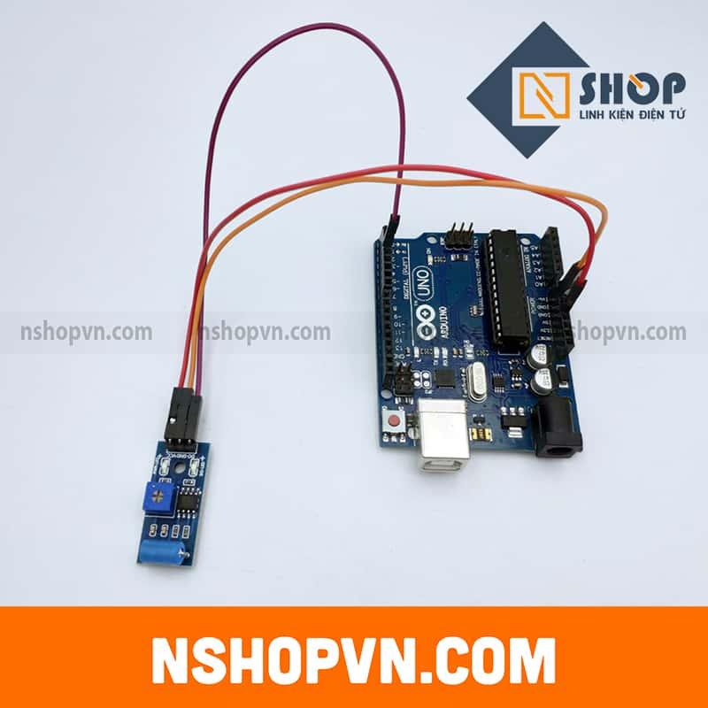 Module cảm biến rung SW420
