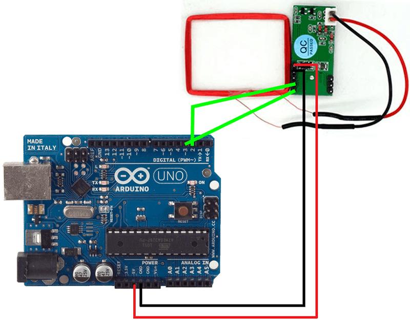 Module thu phát RFID RDM6300 RF 125kHz UART nối tiếp đầu ra