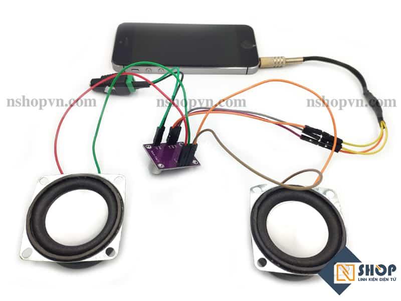 Mạch khuếch Đại Âm Thanh CJMCU PAM8406 Stereo Class-D
