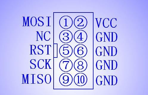 Mạch nạp AVR ISP USBasp vỏ nhôm