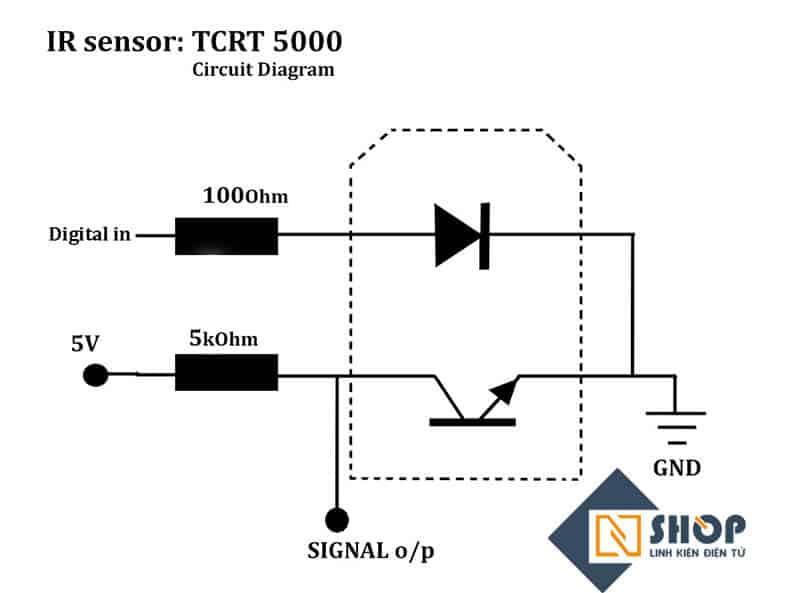 Cảm Biến Dò Line TCRT5000