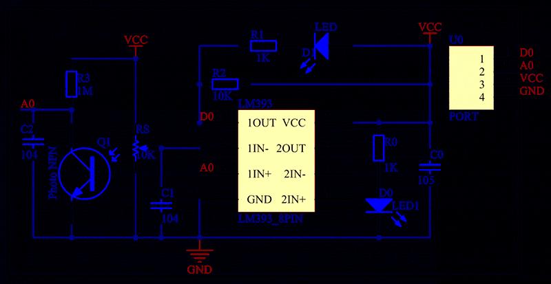 Cảm Biến Phát Hiện Lửa (Flame Sensor)